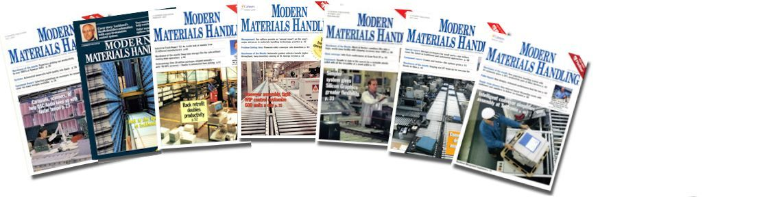 modern materials handling magazine cover feature articles